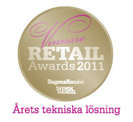 Retail Awards 2011 Winner